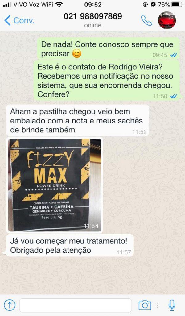 fizzy max depoimento 2